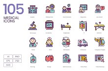 105 Medical Icons by  in Icons
