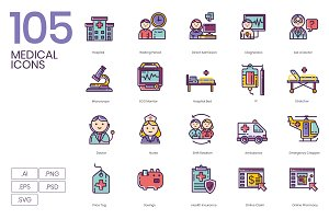 105 Medical Icons