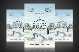 Northern Road - Flyer / Poster