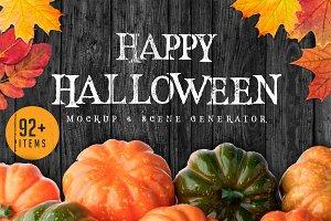 Halloween Mock-up & Scene Creator #2