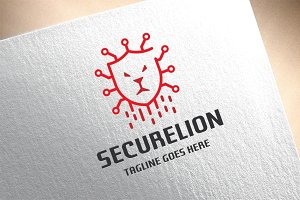 Security Lion Logo