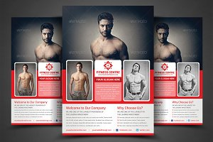 Fitness Flyer - Gym Flyer