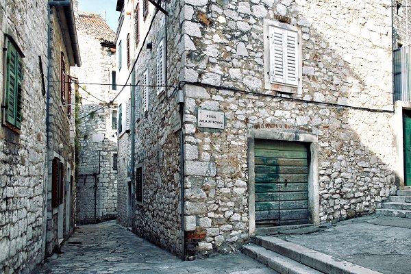 Architecture Stock Photos: UltraShop - Narrow streets of mediterranean city