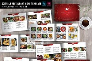 minimal restaurant Menu ID38