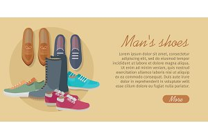 Men's Shoes. Stylish Footwear for