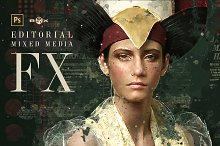 Mixed Media FX Photoshop Add-On