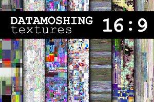 80 DATAMOSHING textures 7680 X 4320