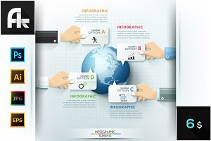 Global Teamwork Infographics