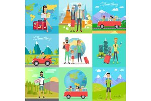 Set of Traveling Vector Concepts in