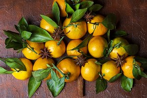 fresh tangerines or clementines