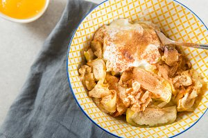 Stewed Apple with Cinnamon