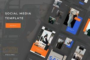 Street Social media template