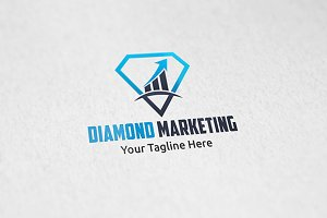 Diamond Marketing - Logo Template