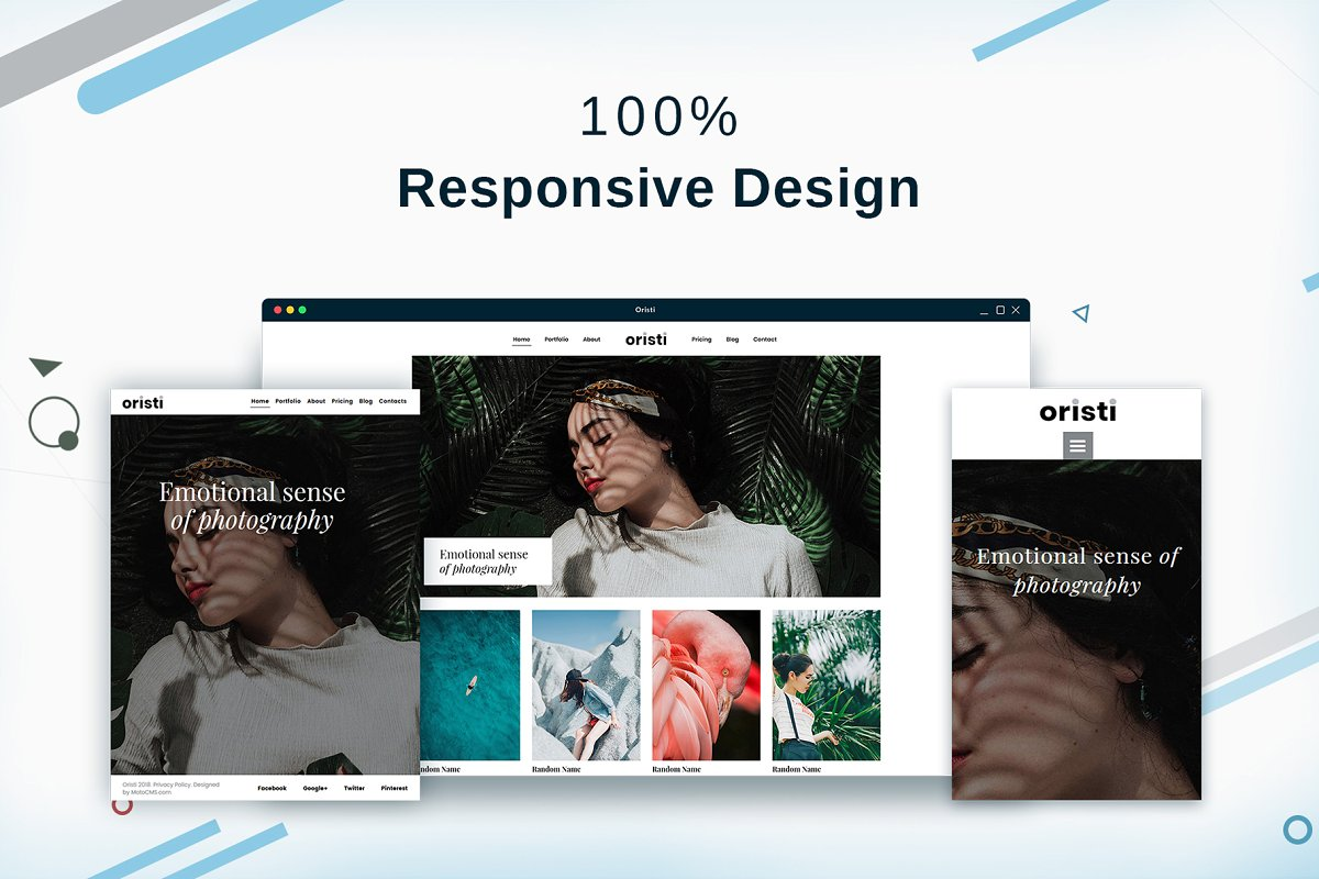 Photography HTML Website Template