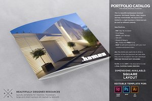 Square Catalogue Portfolio Template