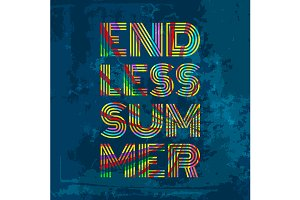 Endless Summer - Artwork for wear