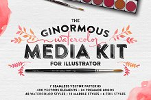 The Watercolor Media Kit (for AI)