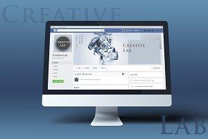 Creative Lab Facebook Cover Template