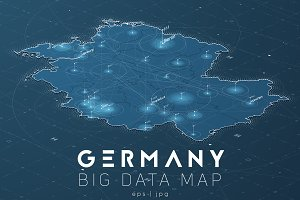 Germany Big Data Map
