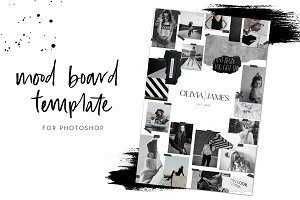 Mood Board Templates for Creatives