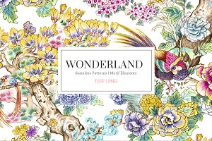 Wonderland, Quality Pattern & Motifs