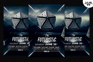 MINIMAL FUTURISTIC Flyer Template