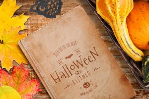 Halloween Cover Mock-up #28