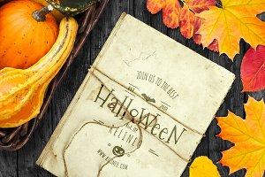 Halloween Paper Mock-up #27