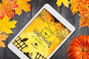 Halloween Tablet Mock-up #22