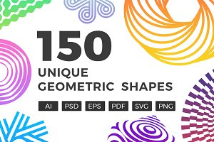150 Unique Geometric Shapes