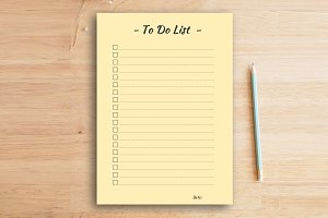To do list (single column)