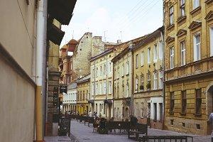 Beautiful old European street