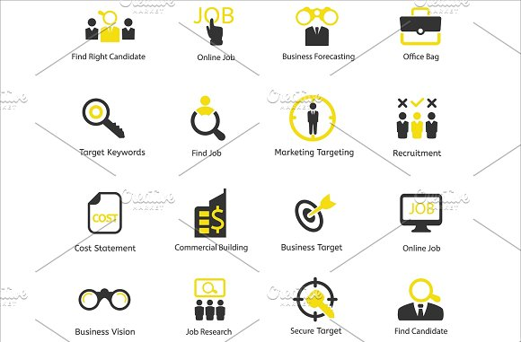 96 CEO / Business / HR vector icons in Business Icons - product preview 5