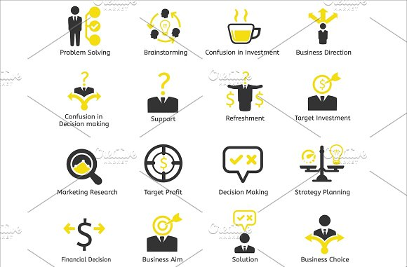 96 CEO / Business / HR vector icons in Business Icons - product preview 6