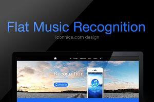 Flat Music Recognition