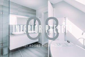 8 Clean Interior Lightroom Presets