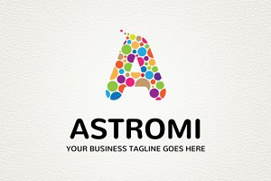Astromi Logo Template