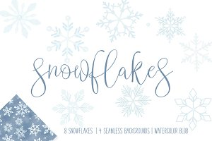 14 piece Snowflake Bundle