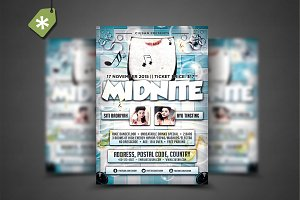 Midnite Flyer Template 2
