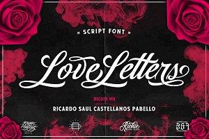 Love Letters (Script Font)