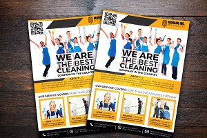 Cleaning Service Company Flyer