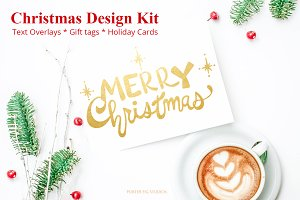 Christmas Design Kit Hand Lettered