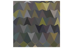 Feldgrau Gray Abstract Low Polygon B