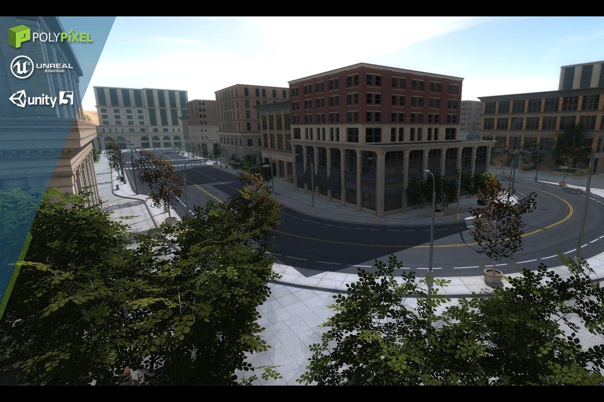 Urban City Pack ~ Architecture Models ~ Creative Market