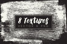8 Vector & PNG Texture Pack