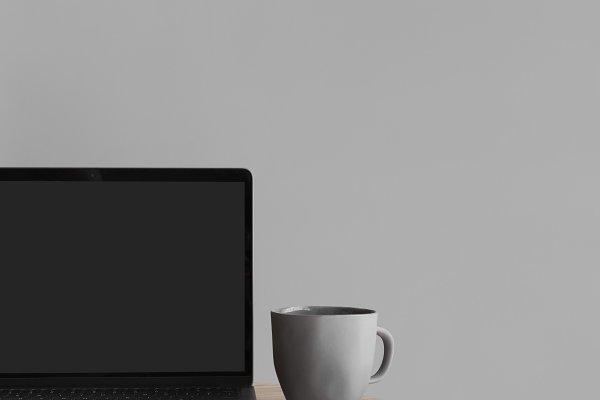 Laptop Screen Photo Mockup