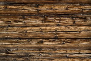 Wooden background of a swiss farm