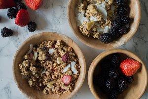 Berries and Granola