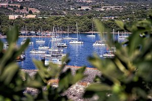 port for yachts. Croatia