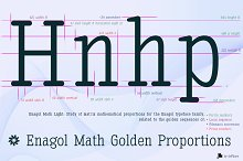 Enagol Math Rounded -4 fonts- by  in Slab Serif Fonts